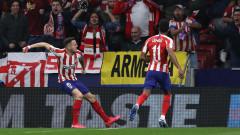 Вдъхновен Атлетико постави Ливърпул на колене