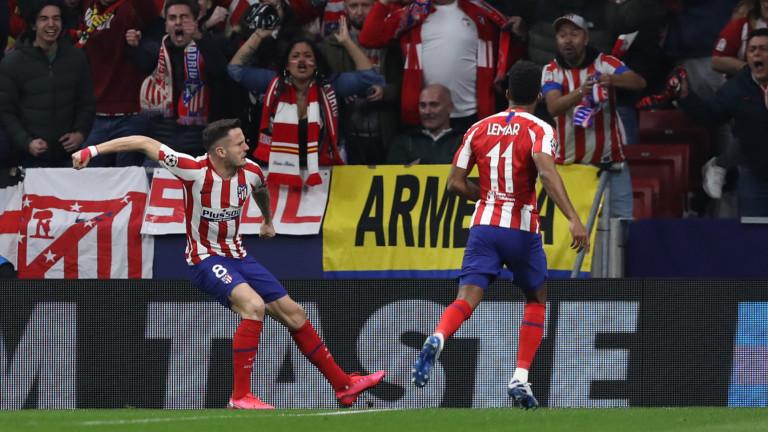 Футболистите на Атлетико (Мадрид) намалиха заплатите си със 70%