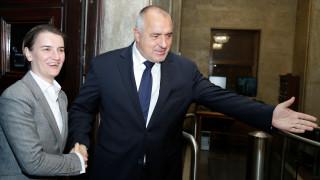 Борисов и Бърнабич с приоритет газопреносната връзка между България и Сърбия