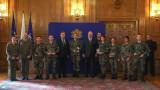 Министър Кралев и вицепремиерът Каракачанов наградиха най-добрите военнослужещи спортисти за 2020 г.