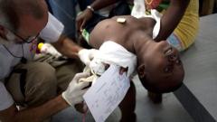 1344 са жертвите на холерата в Хаити
