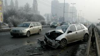 Две тежки катастрофи в столицата