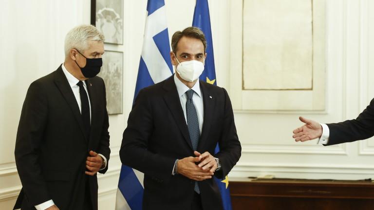 Премиерът Кириакос Мицотакис обяви, че Гърция отваря за туристи от