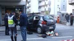 Шофьор гази пешеходци в Италия