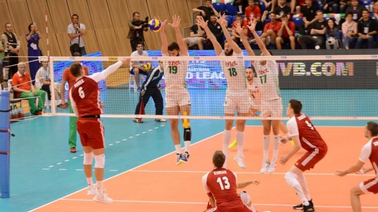 Българският национален отбор по волейбол ще играе за 14-ти път