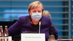 Меркел обеща финансова подкрепа за германския бизнес през 2021 г. и скорошна ваксина