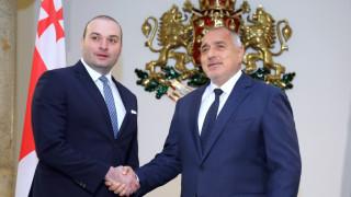 Борисов иска по два ферибота дневно да свързват България и Грузия