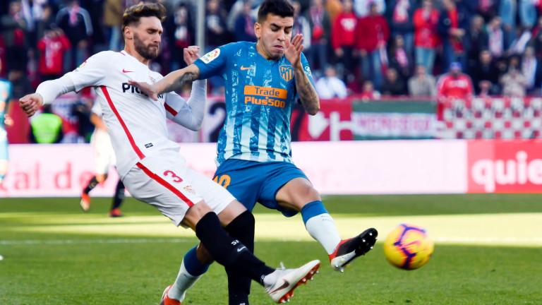 Севиля и Атлетико поделиха точките в дербито на 18-ия кръг в Ла Лига