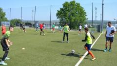 Над 100 деца се пробваха за място в академията на Лудогорец
