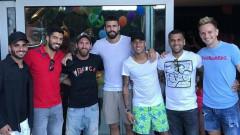 Неймар се завърна в Барселона!