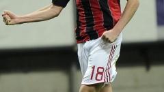 Милан с минимален успех над последния