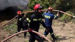 Задържаха българин за поредица пожари в Северна Гърция