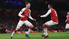 Арсенал помирисва полуфинала в Лига Европа след бой над ЦСКА (Москва)