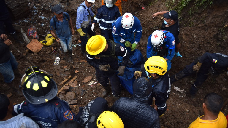 Загиналите под свлачището в колумбийската провинция Каука вече са 28,