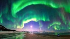 Вижте Северното сияние, заснето от Космоса (ВИДЕО)