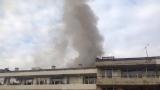 """Пожар избухна в жилищен блок в столичния кв. """"Банишора"""""""