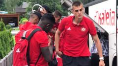 ЦСКА пристигна в Австрия, започва днес с тренировките