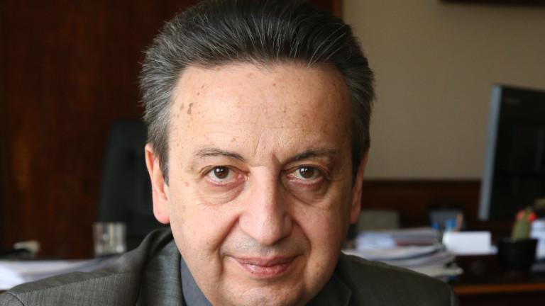 Снимка: Подуправителят на БНБ Димитър Костов подава оставка