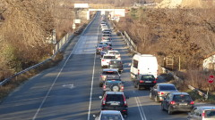 Полицията съветва да бъдем внимателни с трафика в посока Русе