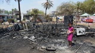 """Най-малко пет цивилни жертви при атака с ракета """"Катюша"""" край летището в Багдад"""
