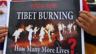Още един тибетски монах се самозапали
