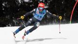 Федерика Бриньоне е първа в алпийската комбинация