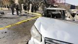 Тройно самоубийствено нападение в Дамаск