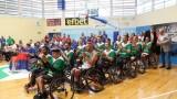 """""""Колелото на живота"""" е 30-минутен документален филм, създаден по повод Европейското първенство по баскетбол на колички"""