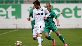 В Славия се надяват, че Дарко Тасевски ще бъде готов за мача с Етър