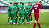 Лудогорец - Бачка Топола 1:0, гол на Текпетей