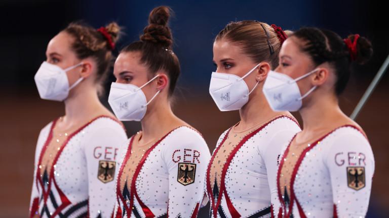 Пиърс Морган срещу немските гимнастички