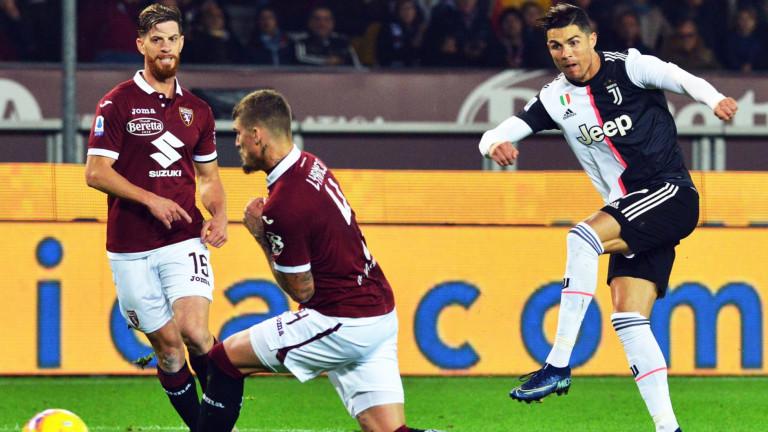 Ювентус спечели градското дерби с Торино