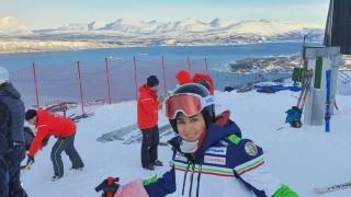 Ева Вукадинова е 22-а в алпийската комбинация на Световното в Нарвик