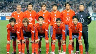 Обявиха състава на Южна Корея за Мондиал 2006