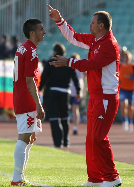 Христов: Да, Стойчо ме натири от ЦСКА