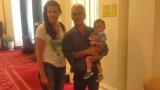 11-месечният Волен Сидеров тръгна по стъпките на татко си