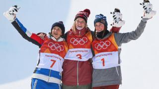 Каси Шарп със злато в халфпайпа ски-свободен стил