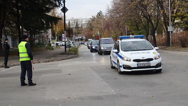 Започна протестно автошествие в Сливен