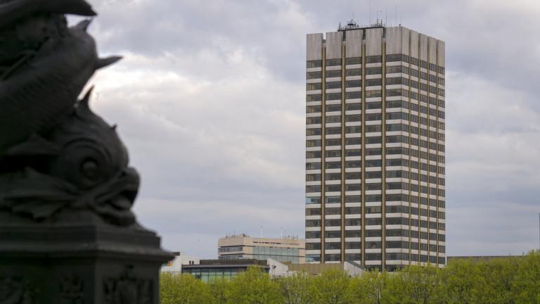 Телевизията използва сградата от 40 години