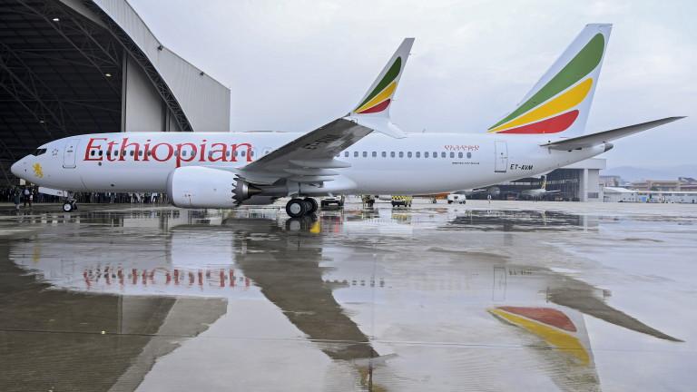 Откриха черните кутии на падналия самолет на Етиопските авиолинии