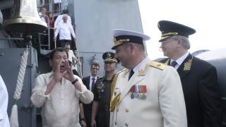 Дутерте се надява Русия да стане съюзник и защитник на Филипините