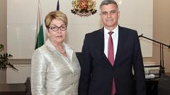 """Янев и посланичката на Русия подчертават """"традиционно добрите ни връзки"""""""