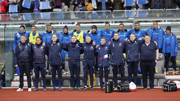 Исландският национален отбор е една от големите атракции на световното