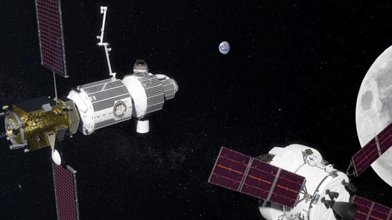 НАСА ще има орбитална станция около Луната