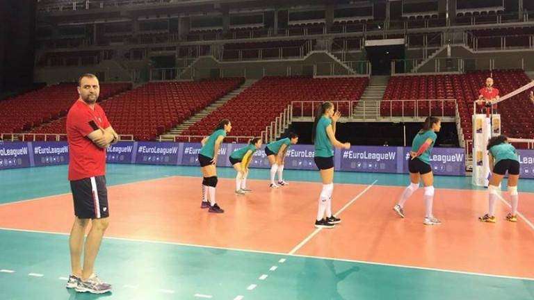 Иван Петков обяви разширен състав от 29 волейболистки за Лигата на нациите