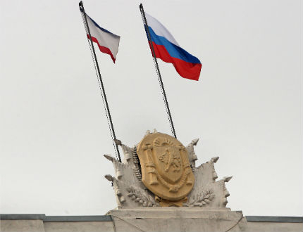 Крим подкрепя Русия една година след анексирането