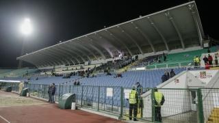 УЕФА ни наказва за един мач пред празни трибуни?