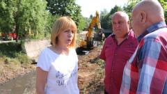 Ежегодно почистваме 100 км речни корита, горда Фандъкова