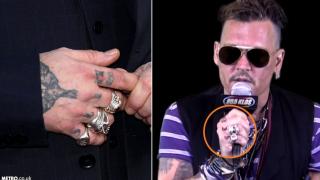 Джони Деп мъсти на Амбър Хърд с нова татуировка