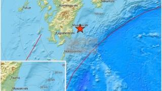 Силно земетресение удари остров Кюшу